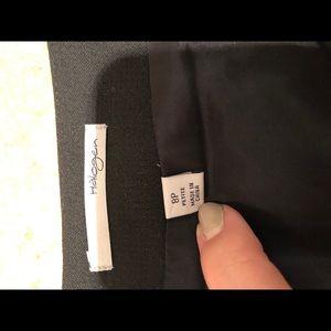 Halogen Skirts - Halogen Pencil Skirt Blue and Black Houndstooth